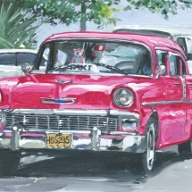 pink-panther-chevrolet-painting-by-susan-pepler