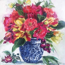 The-Love-Bouquet-Painting-Susan-Pepler