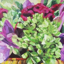 crimson-clover-floral-painting-by-susan-pepler