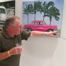 pink-chevy-with-palms-by-susan-pepler-at-ar-gallery-opening