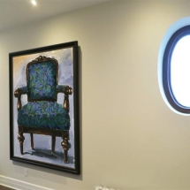 painting-of-chair-by-susan-pepler-westmount-hallway