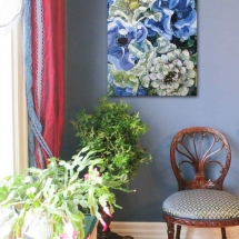 painting-of-flowers-by-susan-pepler-westmount-dining-room