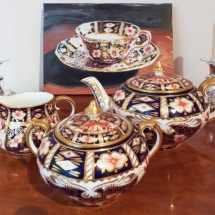 Chadwick Tea Cup by Susan Pepler