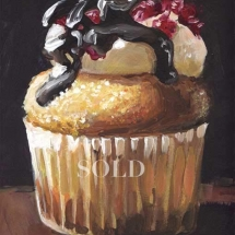 cherry-chocolate-cupcake-painting-by-susan-pepler