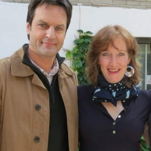 benoit-gouin-susan-pepler-on-the-set-of-nouvelle-addresse